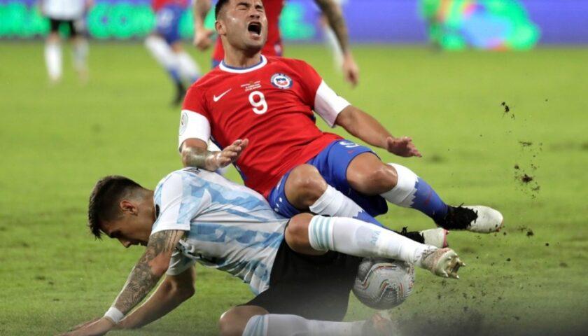 Argentina y Chile no se Superaron. Fue 1 a 1