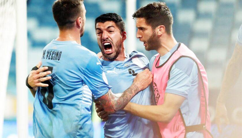 Copa América: Leve mejoría de Uruguay que igualó ante Chile 1-1