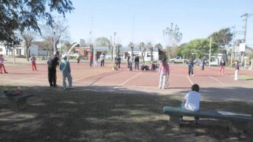 Reinician actividades de Secretaría de Deportes en Soriano.