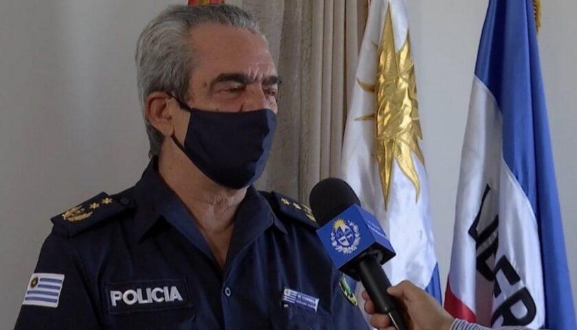 Heber Decidió Cesar al ex Jefe de Policía de Soriano y Río Negro