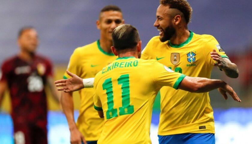 Copa América: Brasil Venció 3-0 a Venezuela