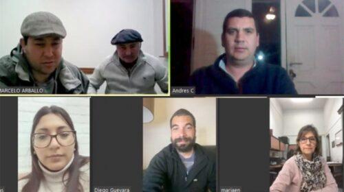 Se Reunieron Comisiones de Obras y de Derechos Humanos de la Junta de Soriano