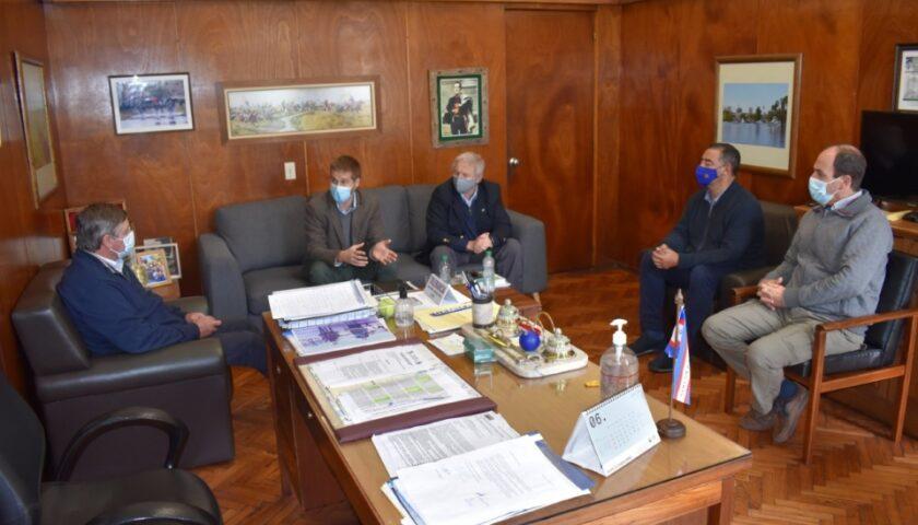 Director Nacional de Vivienda Mantuvo un Encuentro con Intendente Besozzi